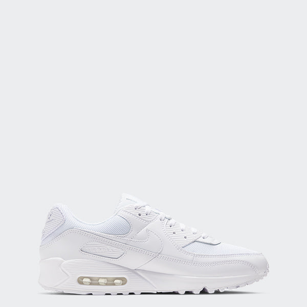 Men's Nike Air Max 90 Shoes White (SKU CN8490-100) | Chicago City Sports | side view