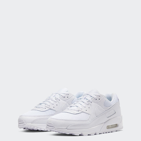 Men's Nike Air Max 90 Shoes White (SKU CN8490-100) | Chicago City Sports | front view