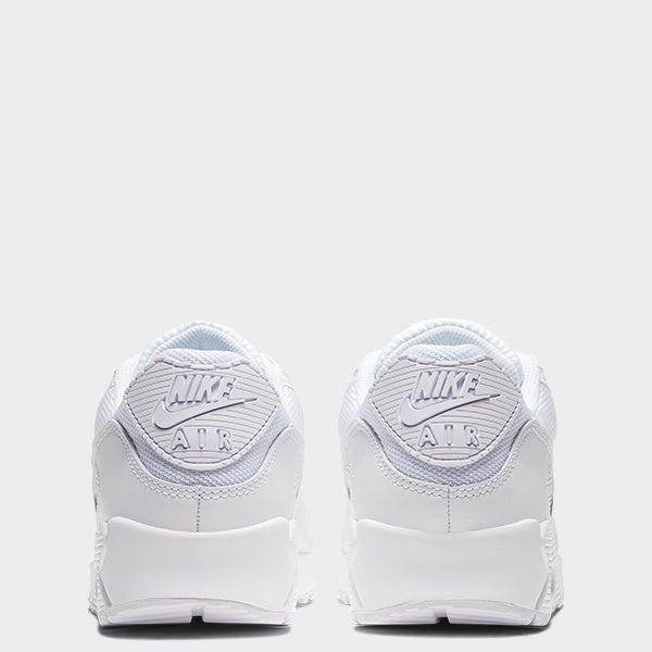 Men's Nike Air Max 90 Shoes White (SKU CN8490-100) | Chicago City Sports | rear view