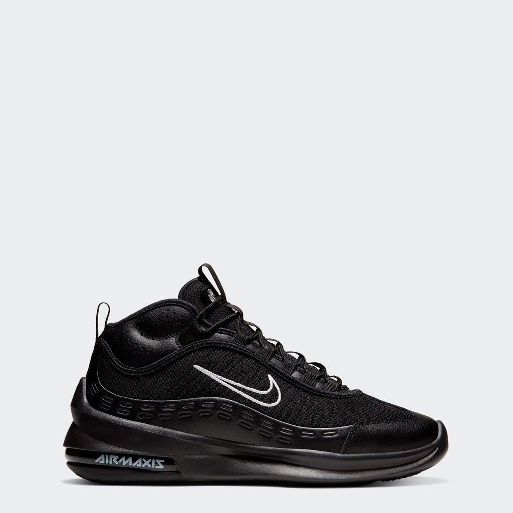 Men's Nike Air Max Axis Mid Shoes Black (SKU BQ4017-002) | Chicago City Sports | side view