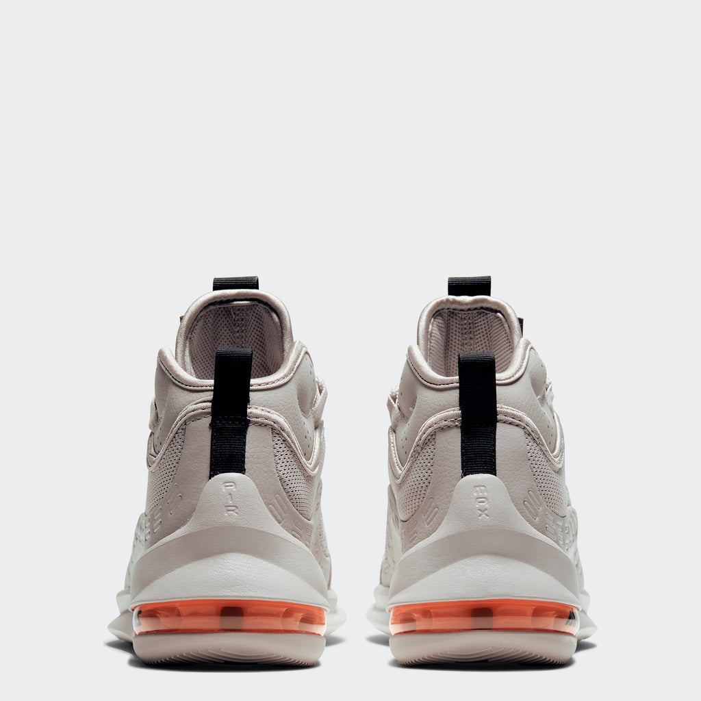 Men's Nike Air Max Axis Mid Shoes Moon Particle Black Orange (SKU BQ4017-200) | Chicago City Sports | rear view