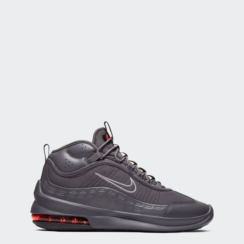 Men's Nike Air Max Axis Mid Shoes Thunder Grey (SKU BQ4017-001) | Chicago City Sports | side view
