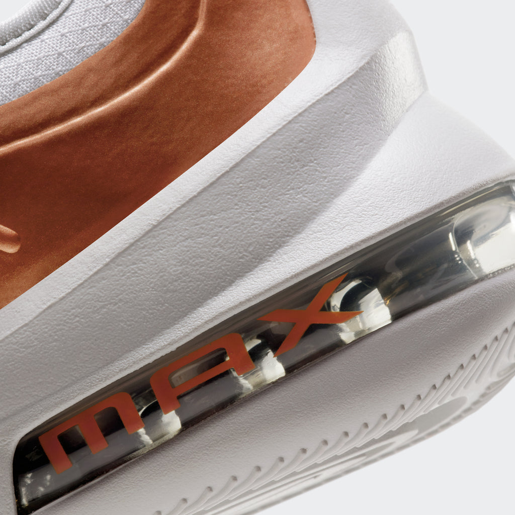 Men's Nike Air Max Axis Premium Shoes White Copper (SKU CD4154-002) | Chicago City Sports | detailed rear outsole view