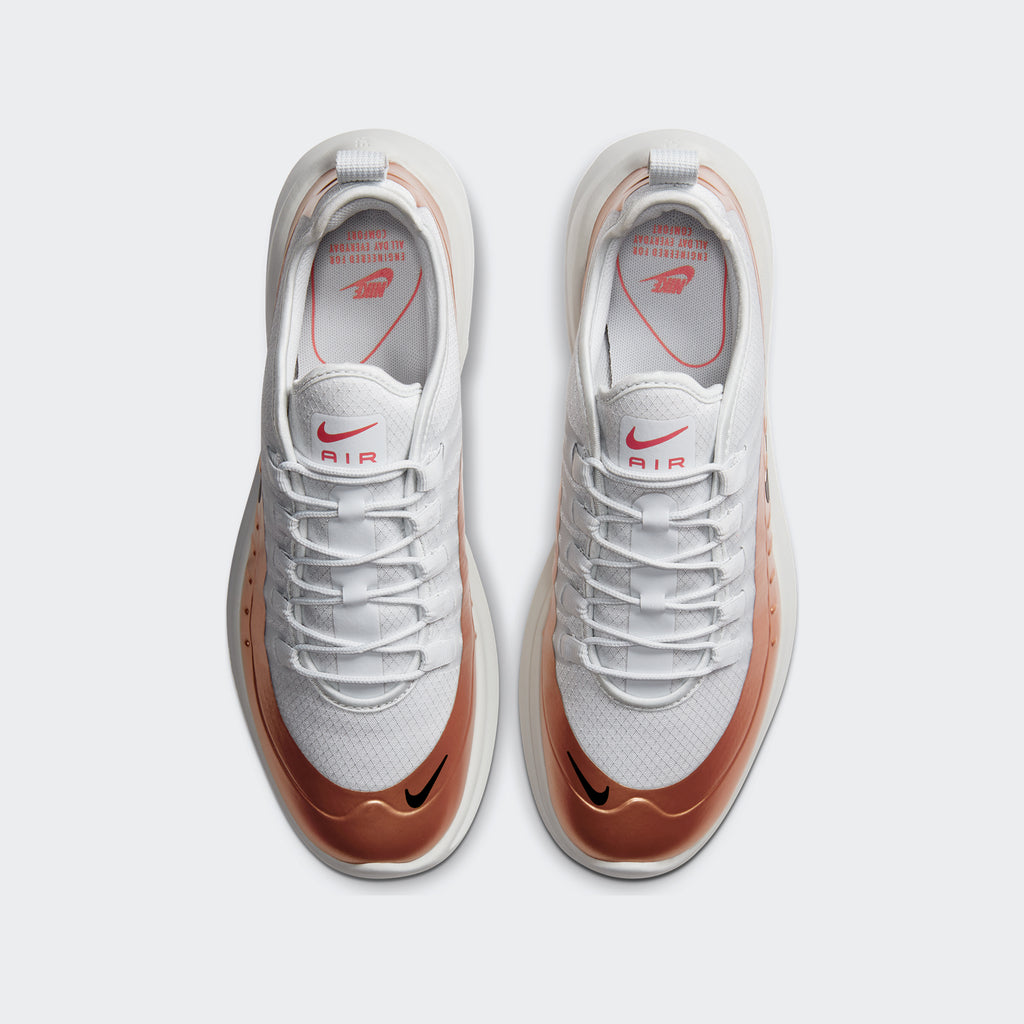 Men's Nike Air Max Axis Premium Shoes White Copper (SKU CD4154-002) | Chicago City Sports | top view