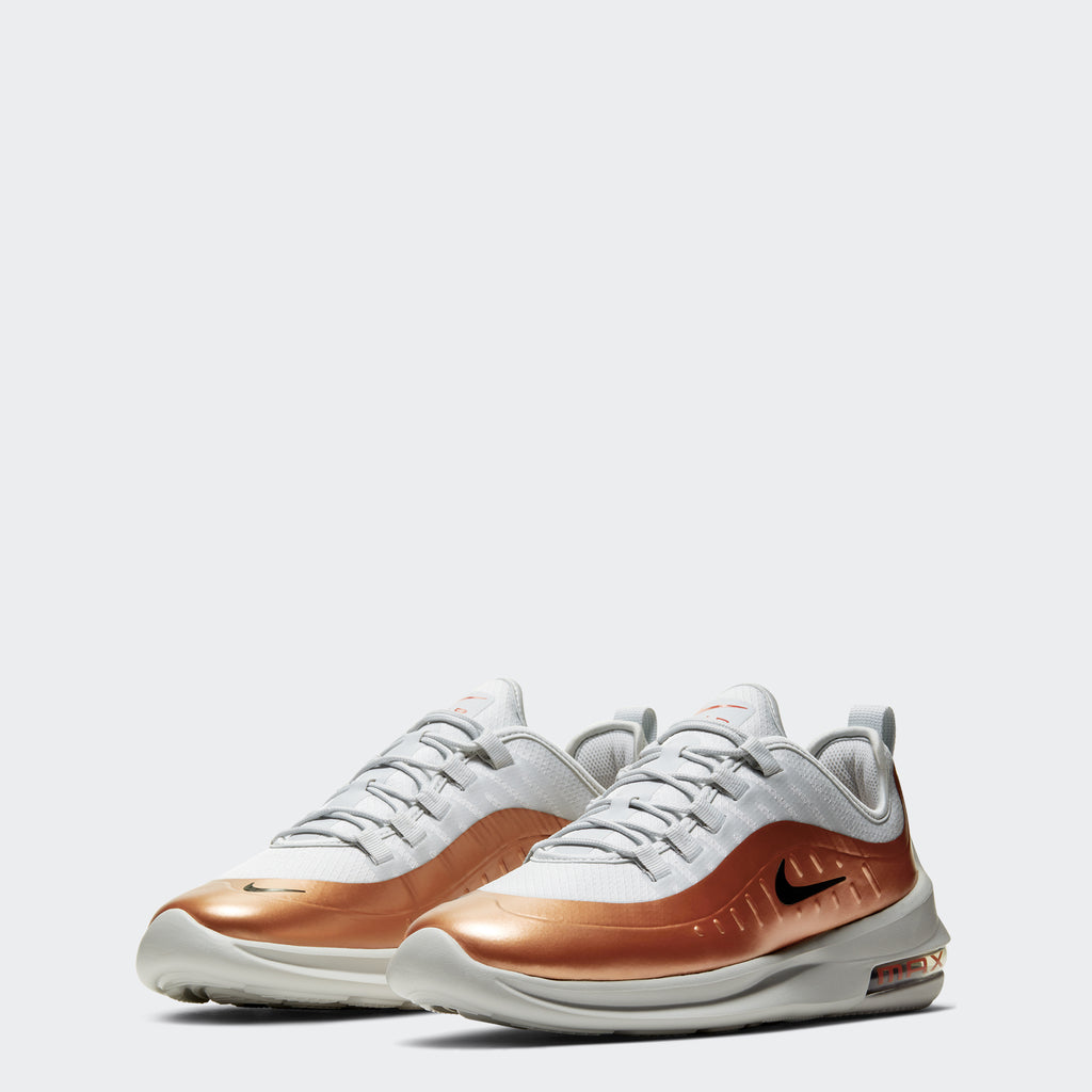 Men's Nike Air Max Axis Premium Shoes White Copper (SKU CD4154-002) | Chicago City Sports | front view