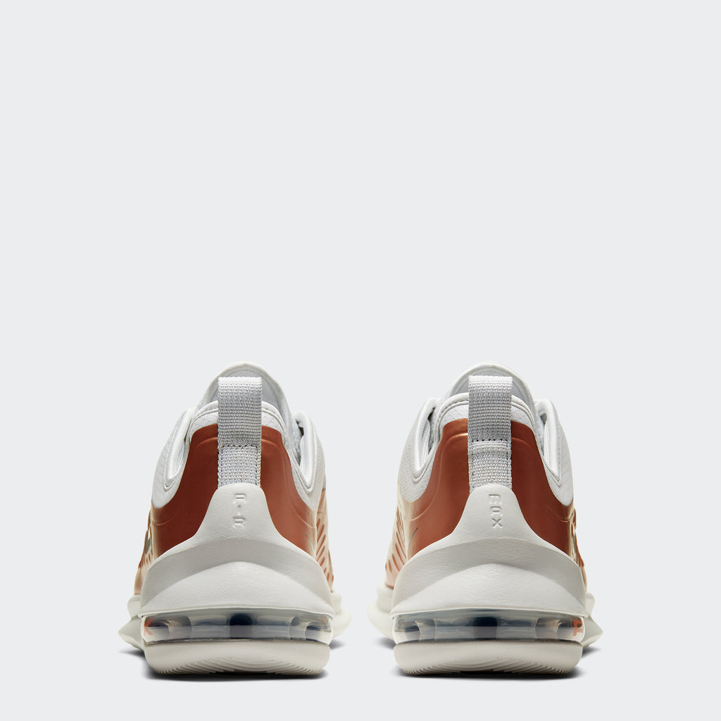 Men's Nike Air Max Axis Premium Shoes White Copper (SKU CD4154-002) | Chicago City Sports | rear view