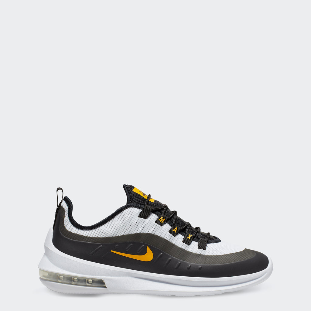 Men's Nike Air Max Axis Shoes Black Gold