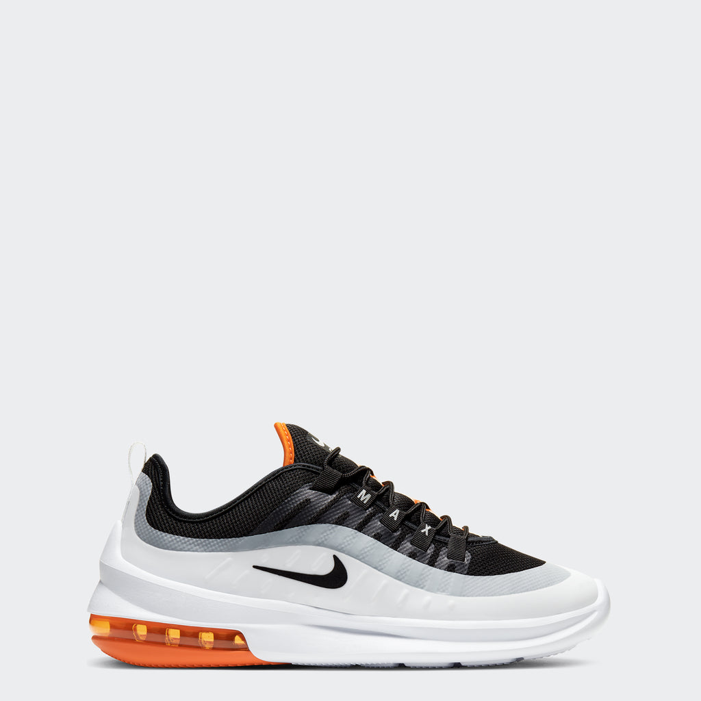 Men's Nike Air Max Axis Shoes Black Orange