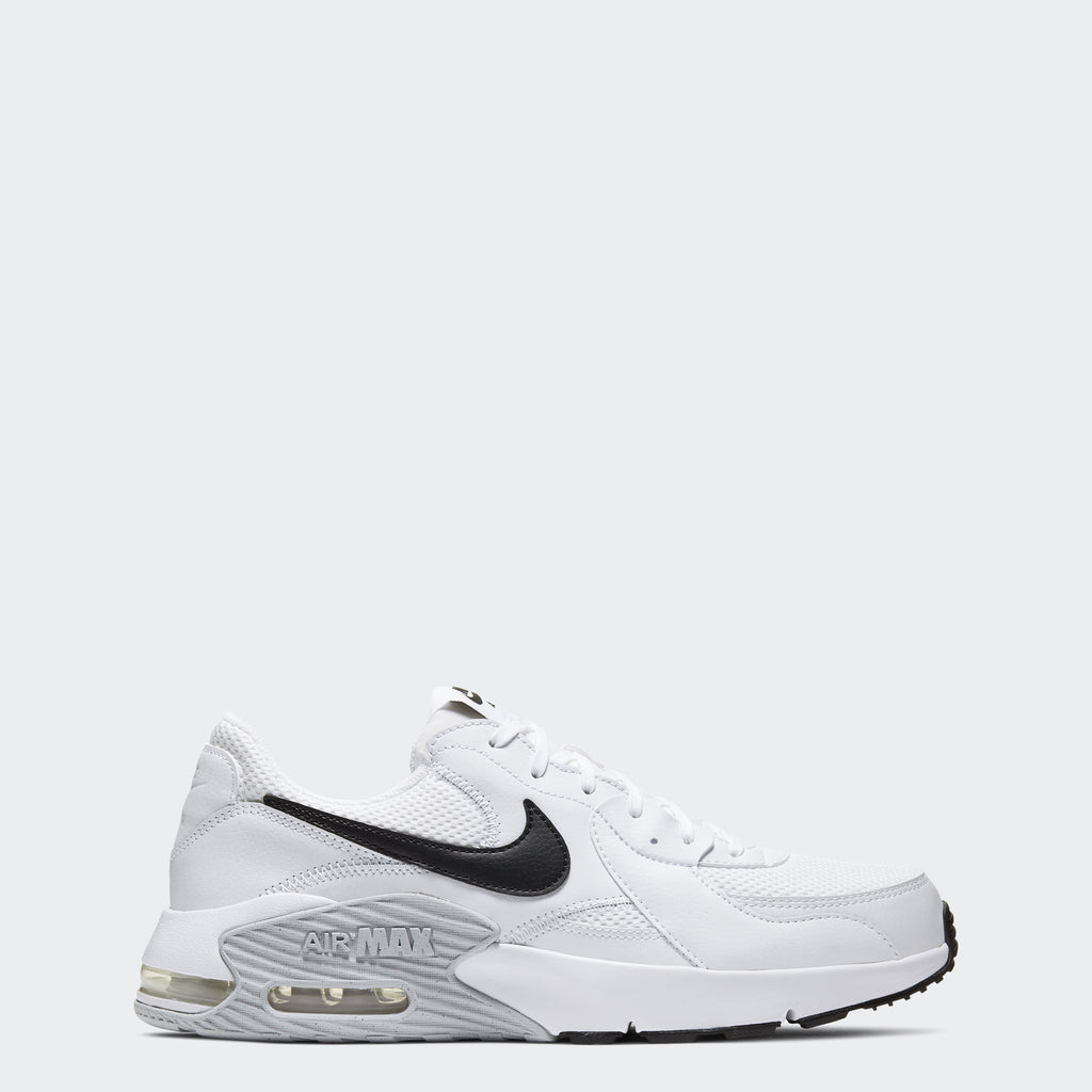 Men's Nike Air Max Excee Shoes White Platinum (SKU CD4165-100) | Chicago City Sports | side view