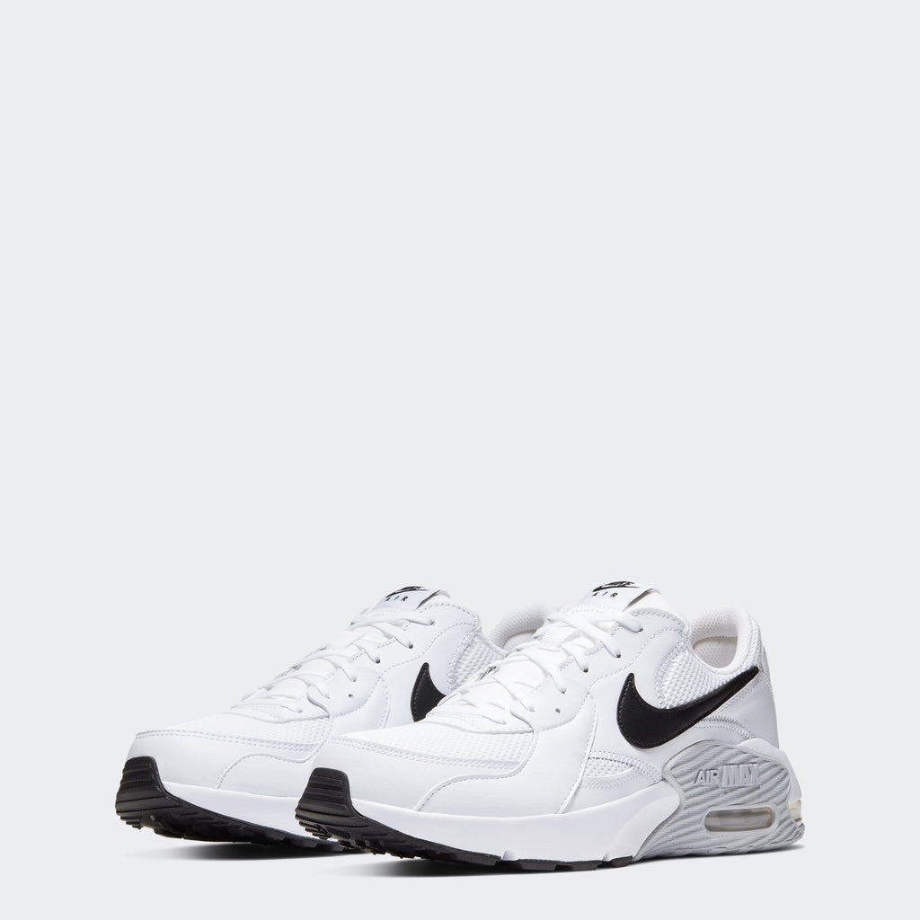 Men's Nike Air Max Excee Shoes White Platinum (SKU CD4165-100) | Chicago City Sports | front view