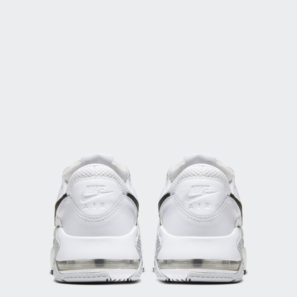 Men's Nike Air Max Excee Shoes White Platinum (SKU CD4165-100) | Chicago City Sports | rear view