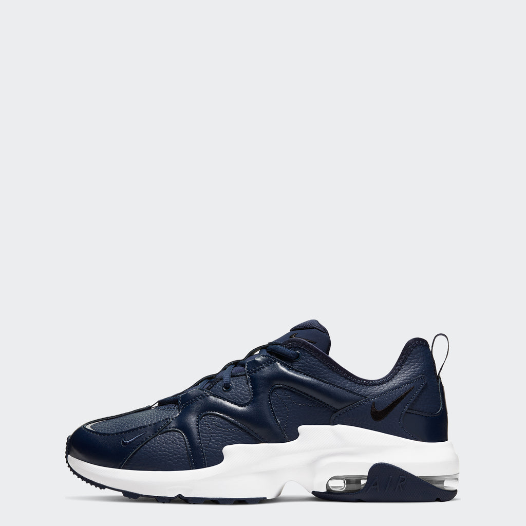Men's Nike Air Max Graviton Shoes Midnight Navy (SKU CD4151-400) | Chicago City Sports | side view