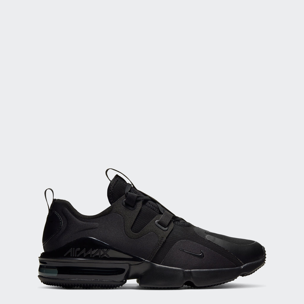 Men's Nike Air Max Infinity Shoes Black (SKU BQ3999-004) | Chicago City Sports | side view
