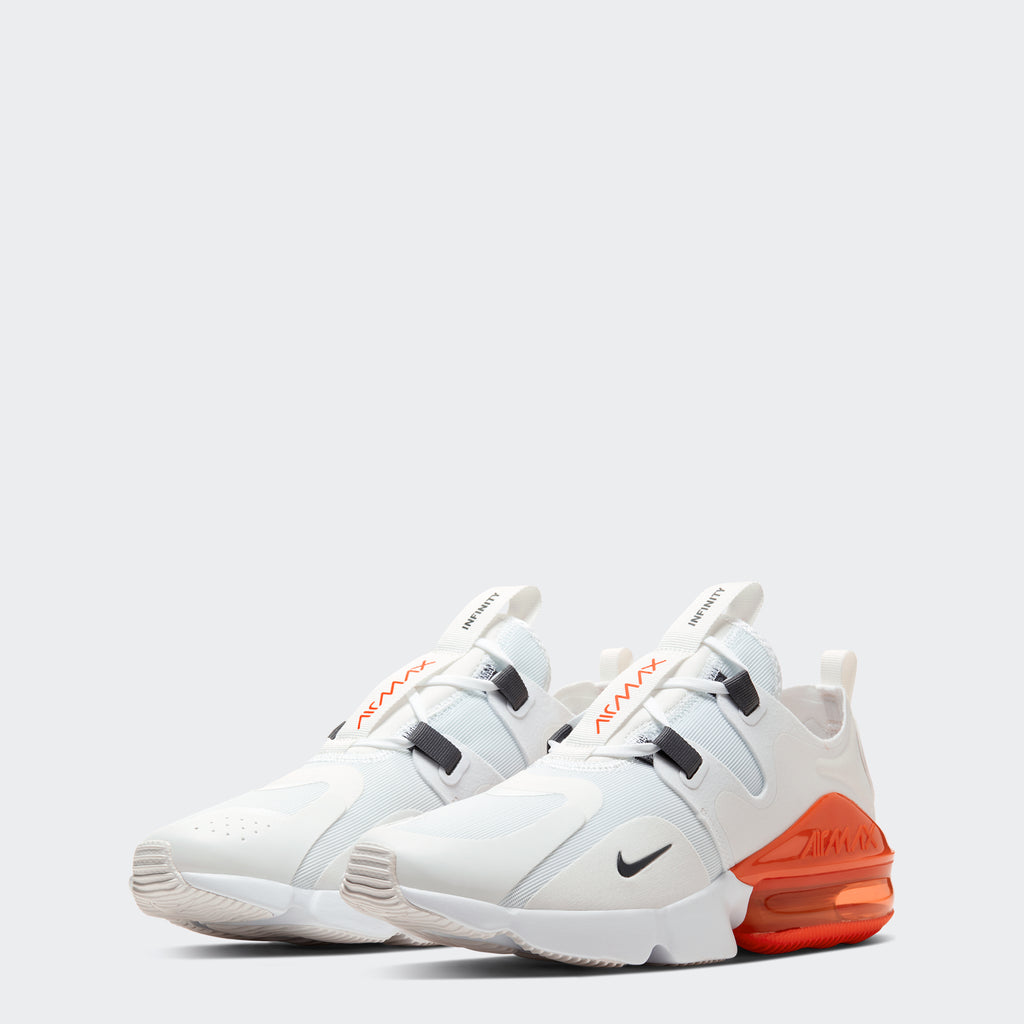 Men's Nike Air Max Infinity White (SKU BQ3999-100) | Chicago City Sports | front view