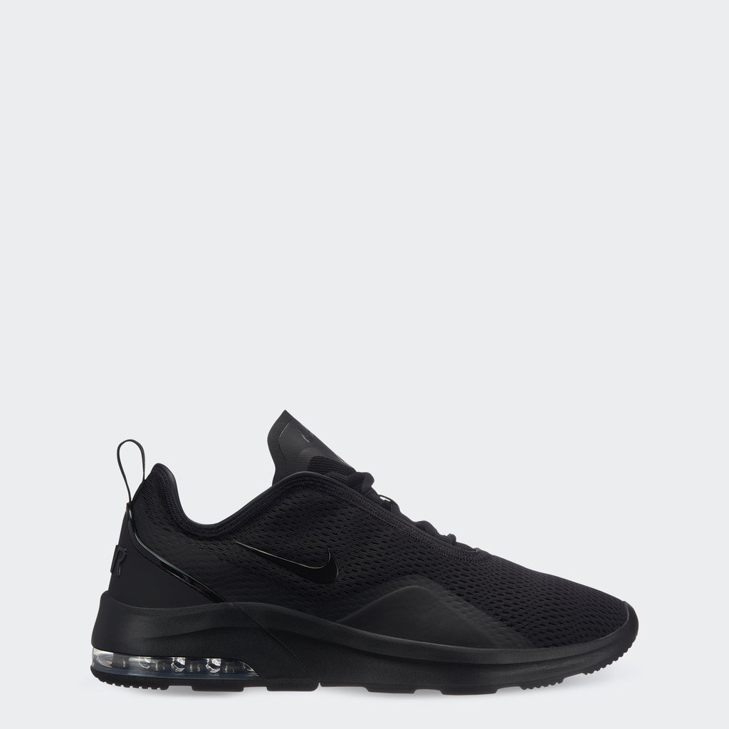 Men's Nike Air Max Motion 2 Shoes Black (SKU AO0266-004) | Chicago City Sports | side view