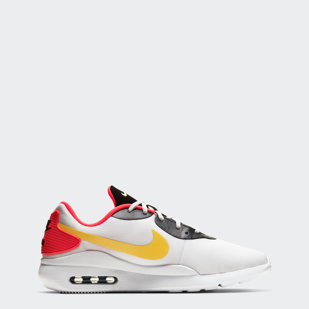 Men's Nike Air Max Oketo Shoes White (SKU AQ2235-102) | Chicago City Sports | side view