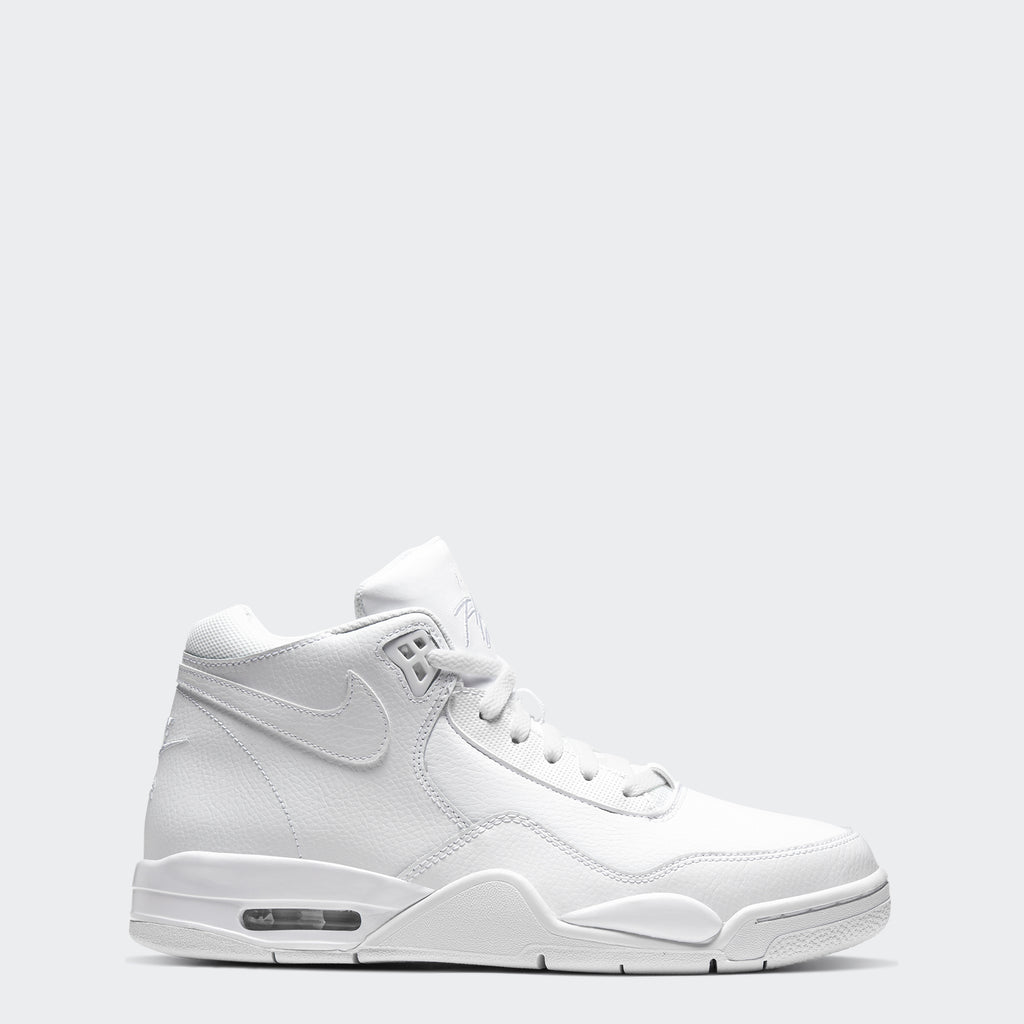 Men's Nike Flight Legacy Shoes Triple White