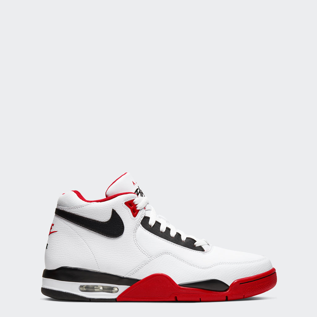 Men's Nike Flight Legacy Shoes White Red