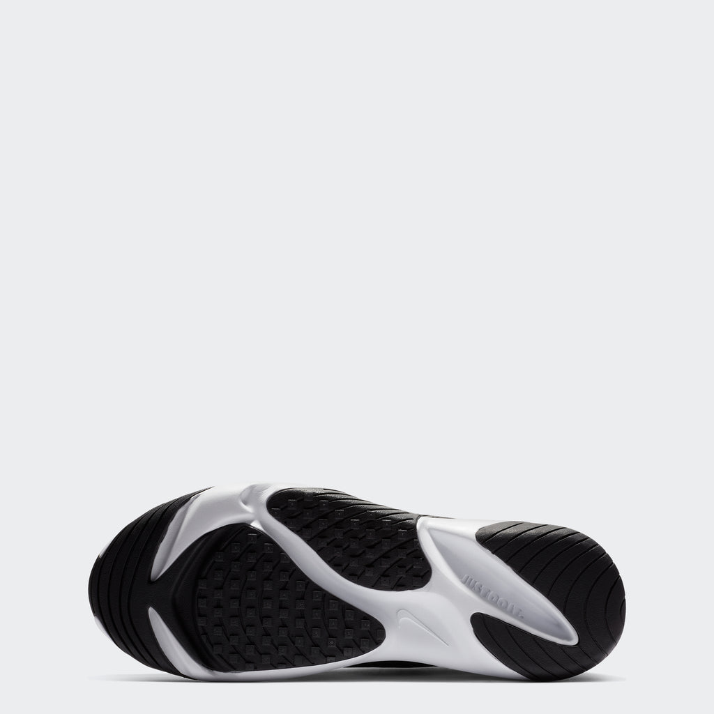 Men's Nike Zoom 2K Shoes White Black (SKU AO0269101) | Chicago City Sports | bottom view