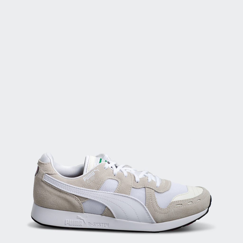 Men's PUMA RS-100 Core Sneakers Whisper White