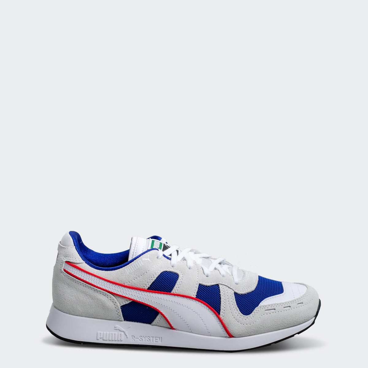 separation shoes de74f d556c Men s PUMA RS-100 Core Sneakers White Blue
