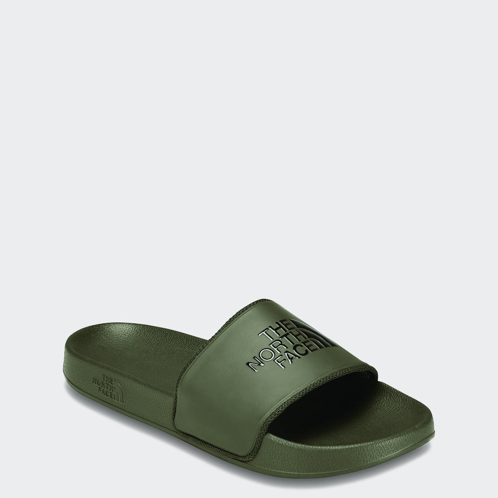 Men's The North Face Base Camp Slides II Tarmac Green
