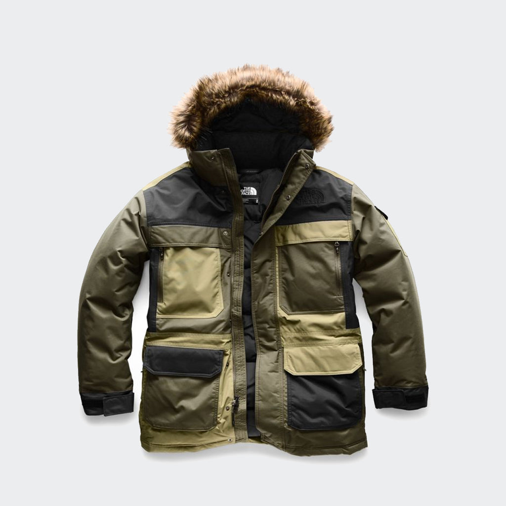 Men's The North Face McMurdo Parka III New Taupe Green Combo