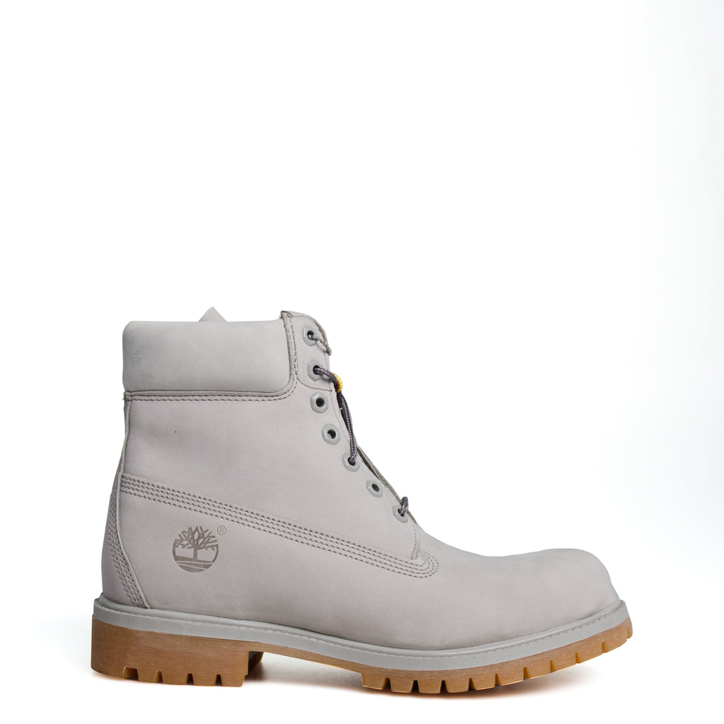 Men's Timberland 6-Inch Basic Waterproof Boots Flint Grey