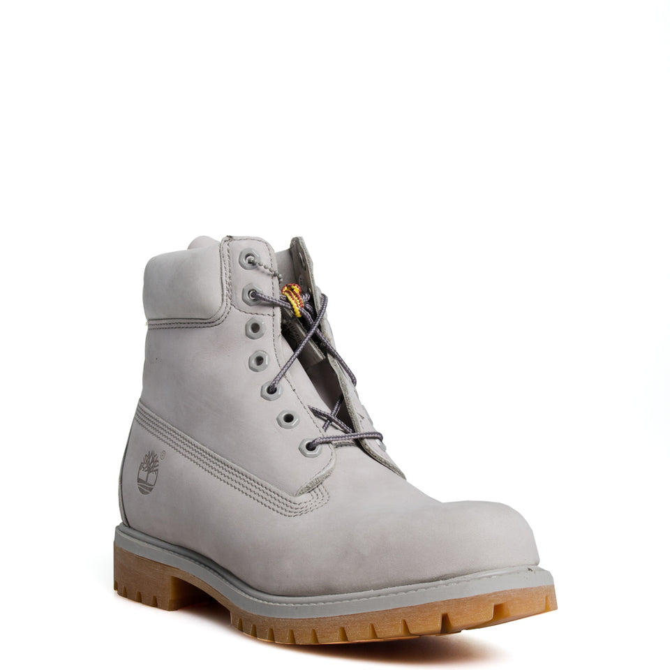 Men's Timberland 6 Inch Basic Waterproof Boots Flint Grey/ Gum