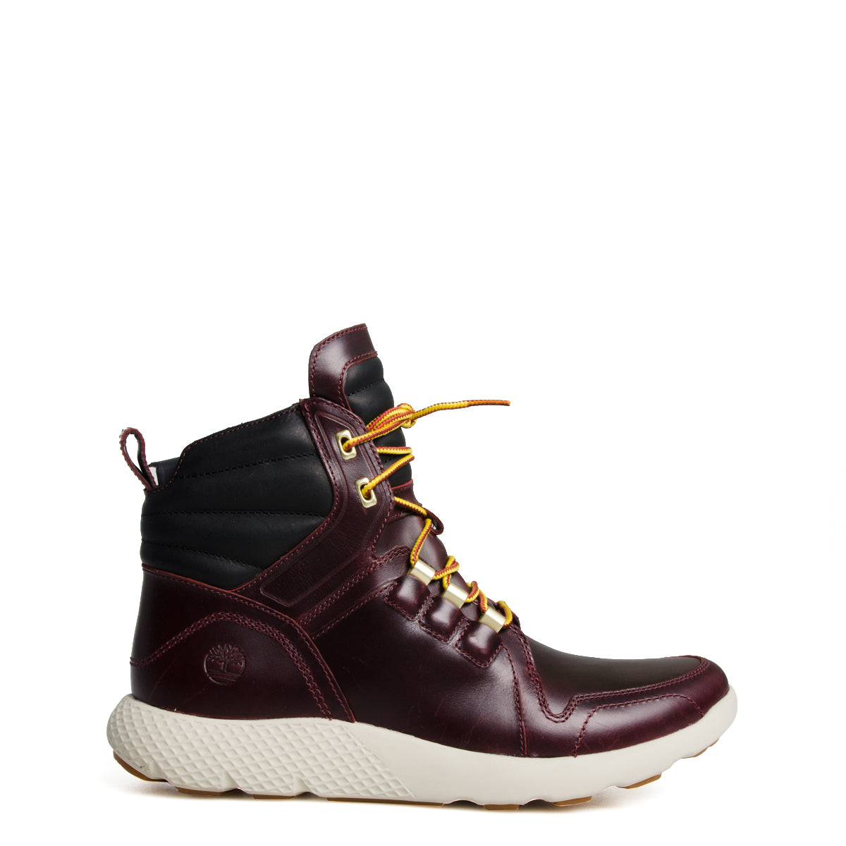6b953ce4f81 Timberland Flyroam Leather Boots Burgundy | Chicago City Sports