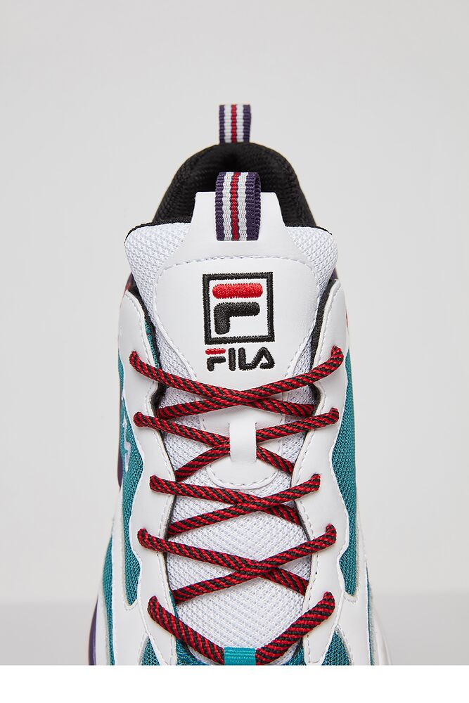 Men's FILA Ray Tracer Shoes Teal