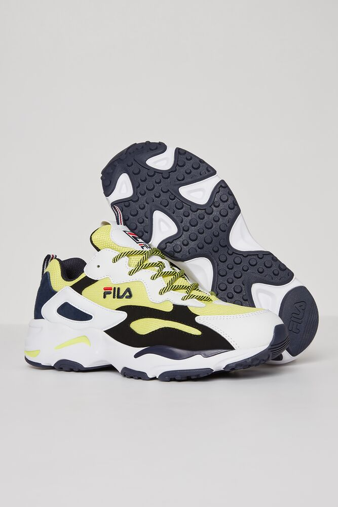 Men's FILA Ray Tracer Shoes Yellow