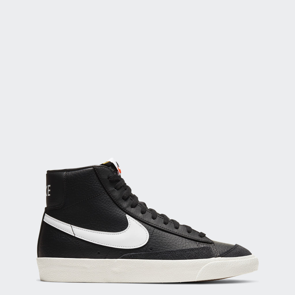 Nike Blazer Mid '77 Vintage Black BQ6806-002 | Chicago City Sports | side view