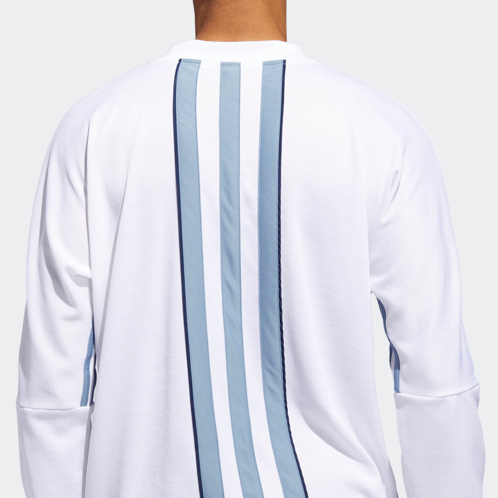 Men's adidas Originals Authentics 3-Stripes Jersey White