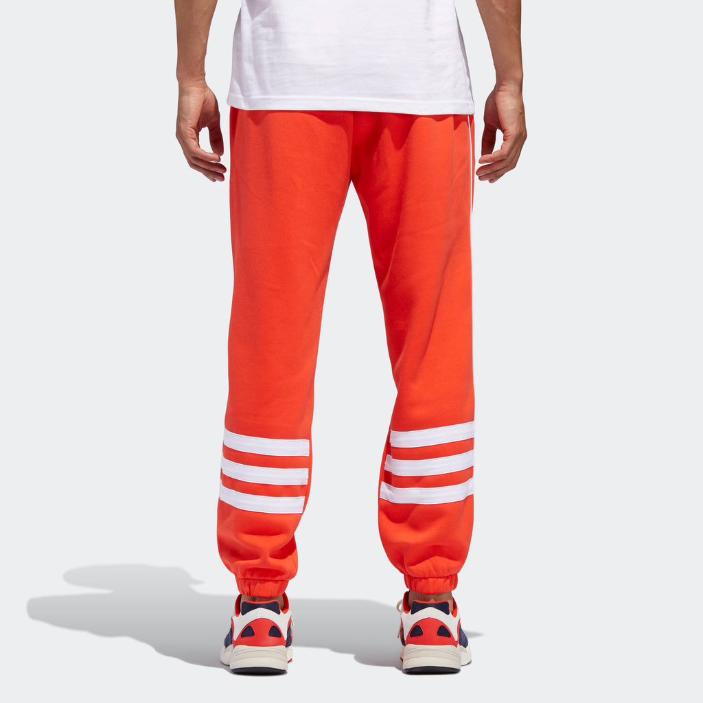 Men's adidas Originals Authentics Sweatpants Hi-Res Red