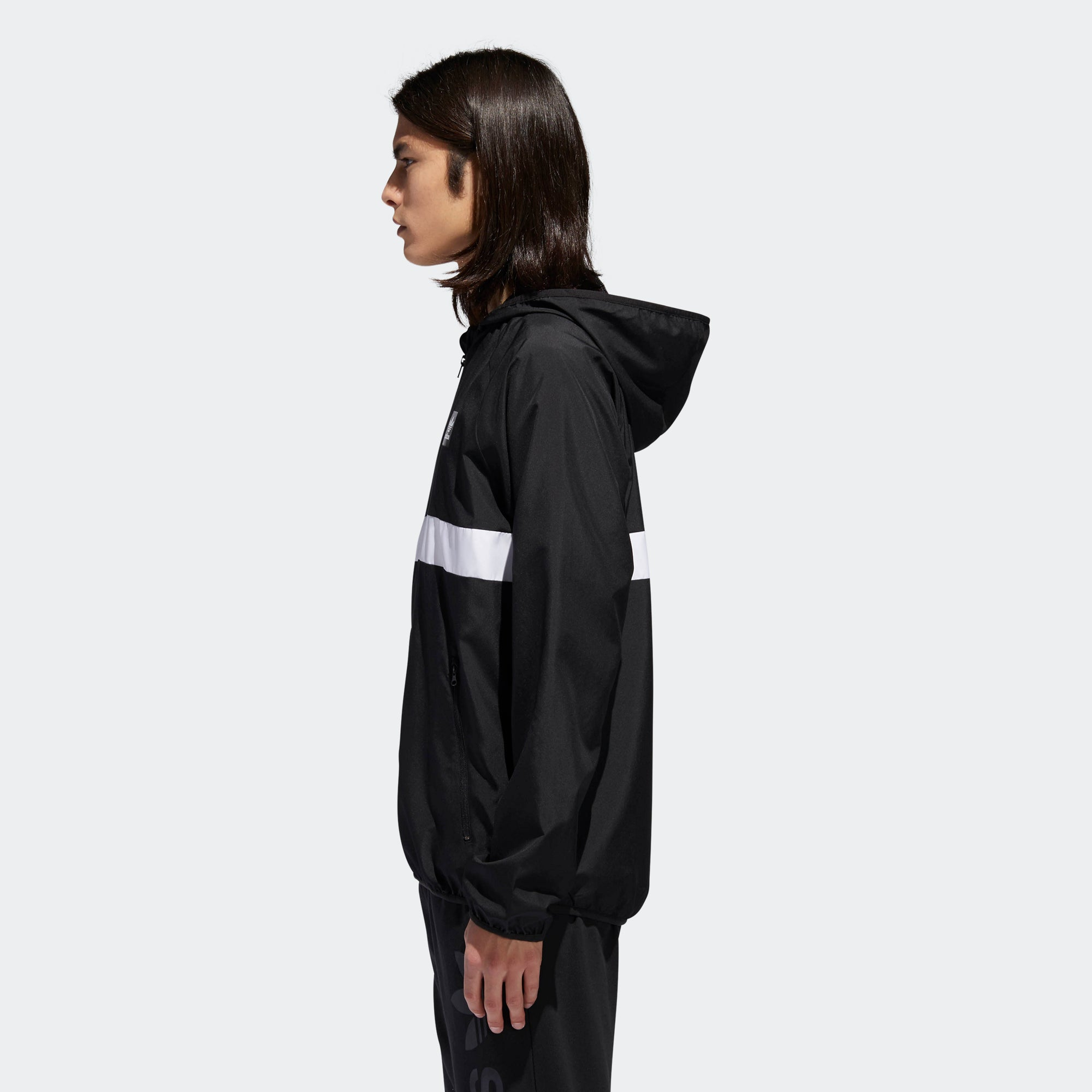 new concept 3e269 e8894 Men s adidas Originals Blackbird Packable Wind Jacket Black. 1