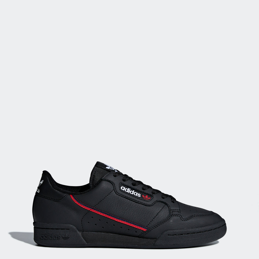 Men's adidas Originals Continental 80 Shoes Black