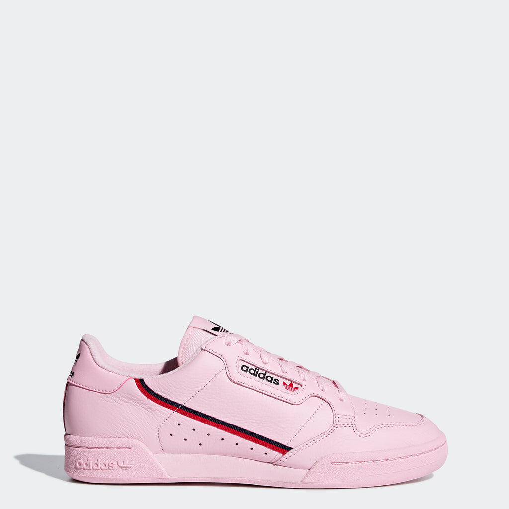 Men's adidas Continental 80 Shoes Clear Pink B41679 | Chicago City Sports | side view