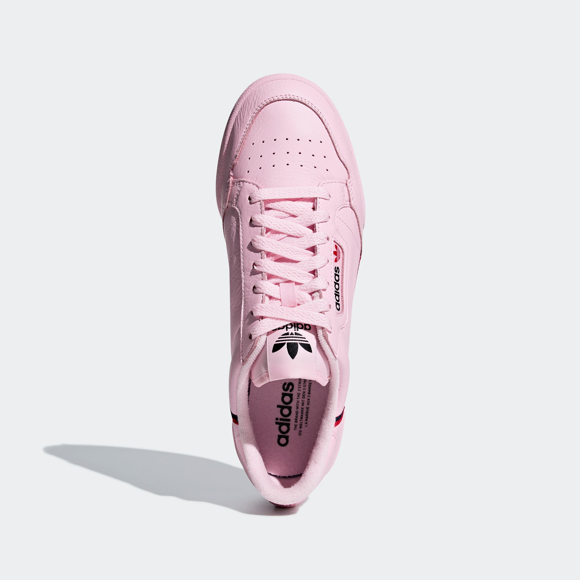 new style ce558 ff83b Mens adidas Originals Continental 80 Shoes Clear Pink. 1