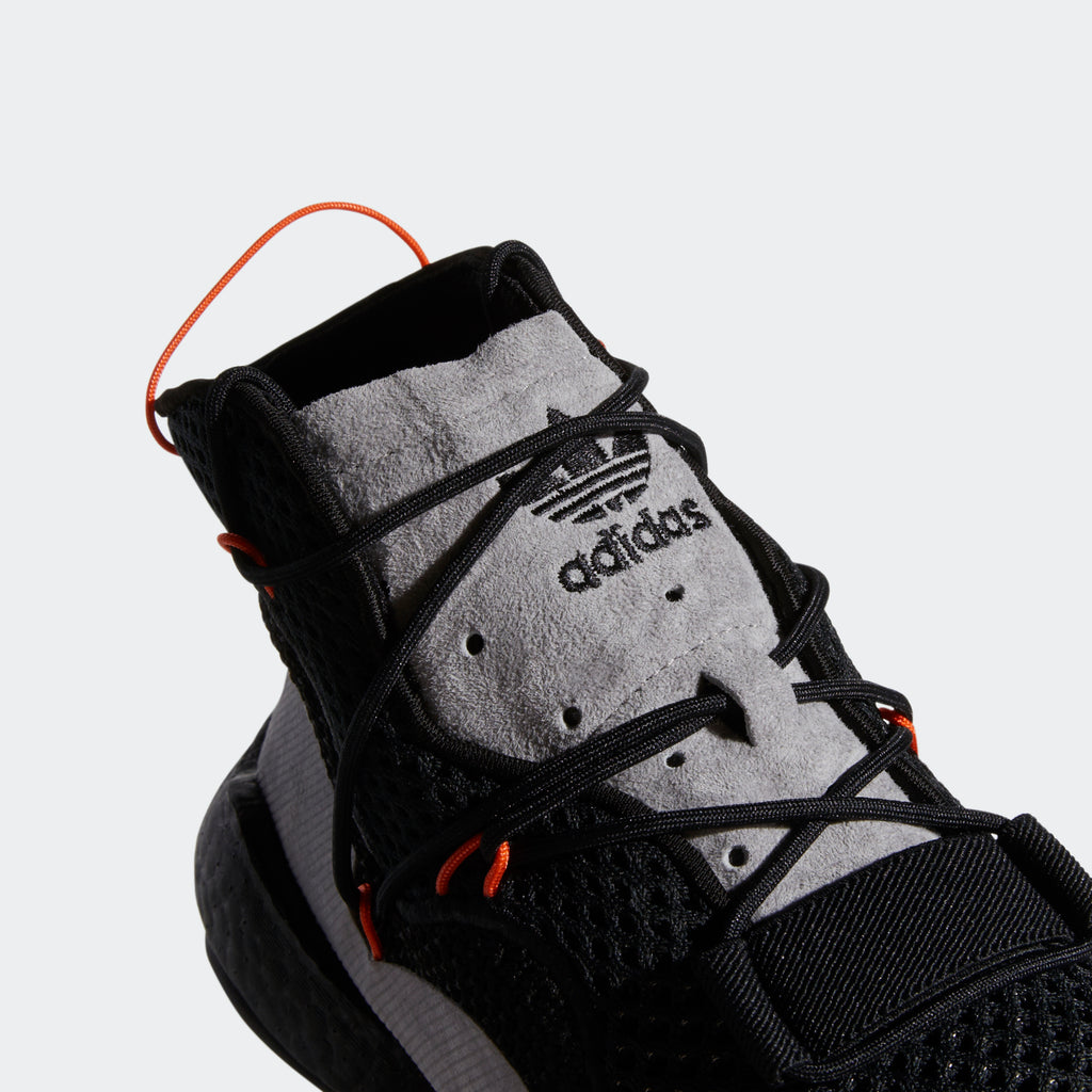 Men's adidas Originals Crazy BYW Shoes Core Black/ Orange