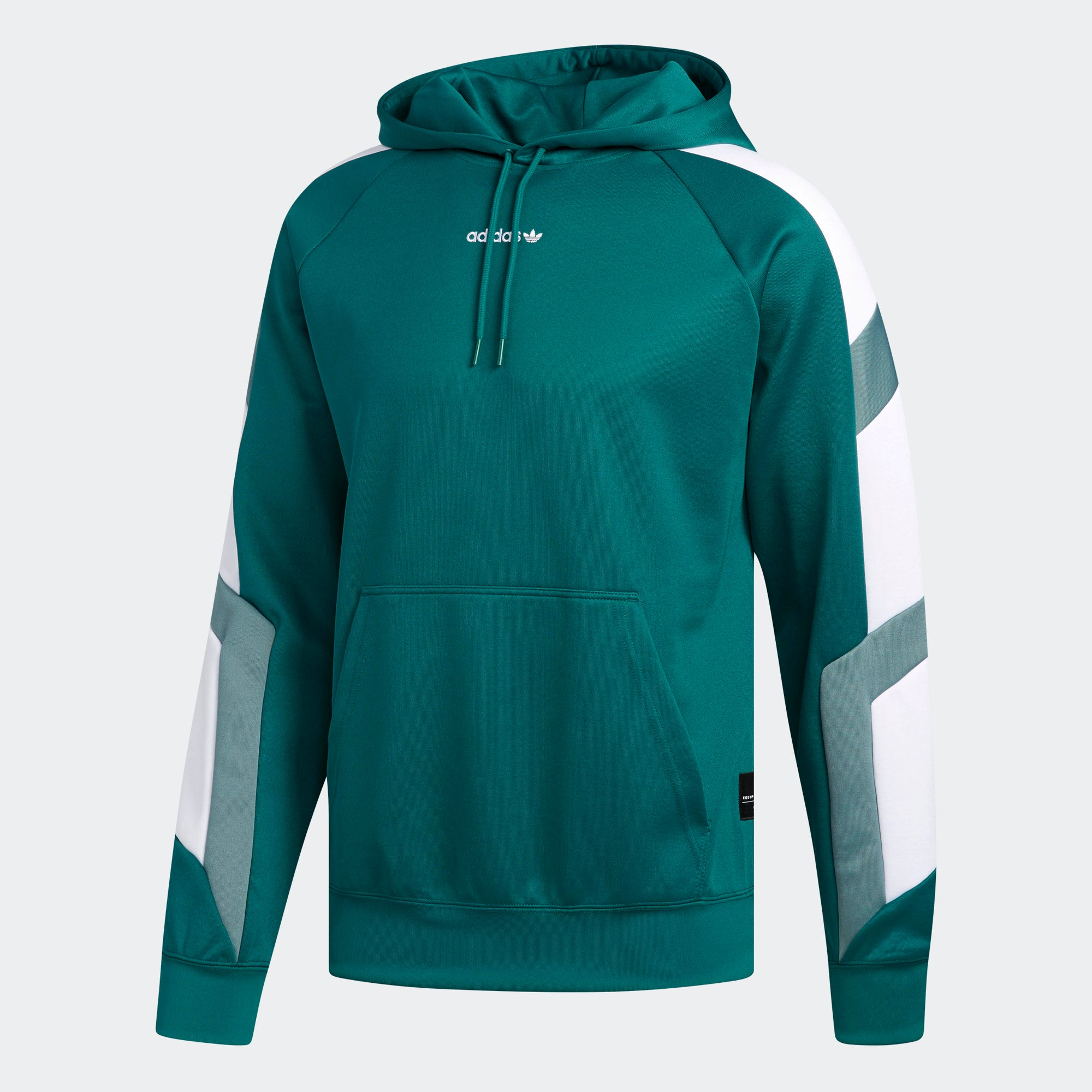 253bb8fbcf25 Men s adidas Originals EQT Block Hoodie Noble Green