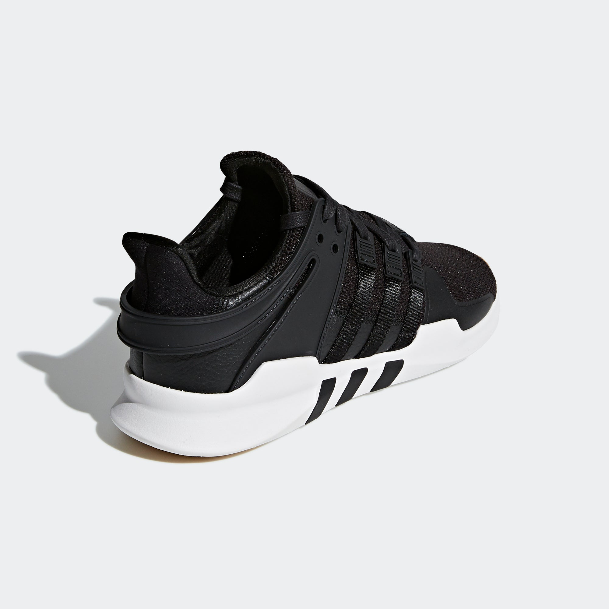 new styles de0fb e0829 Mens adidas Originals EQT Support ADV Shoes Core Black Gum. 1
