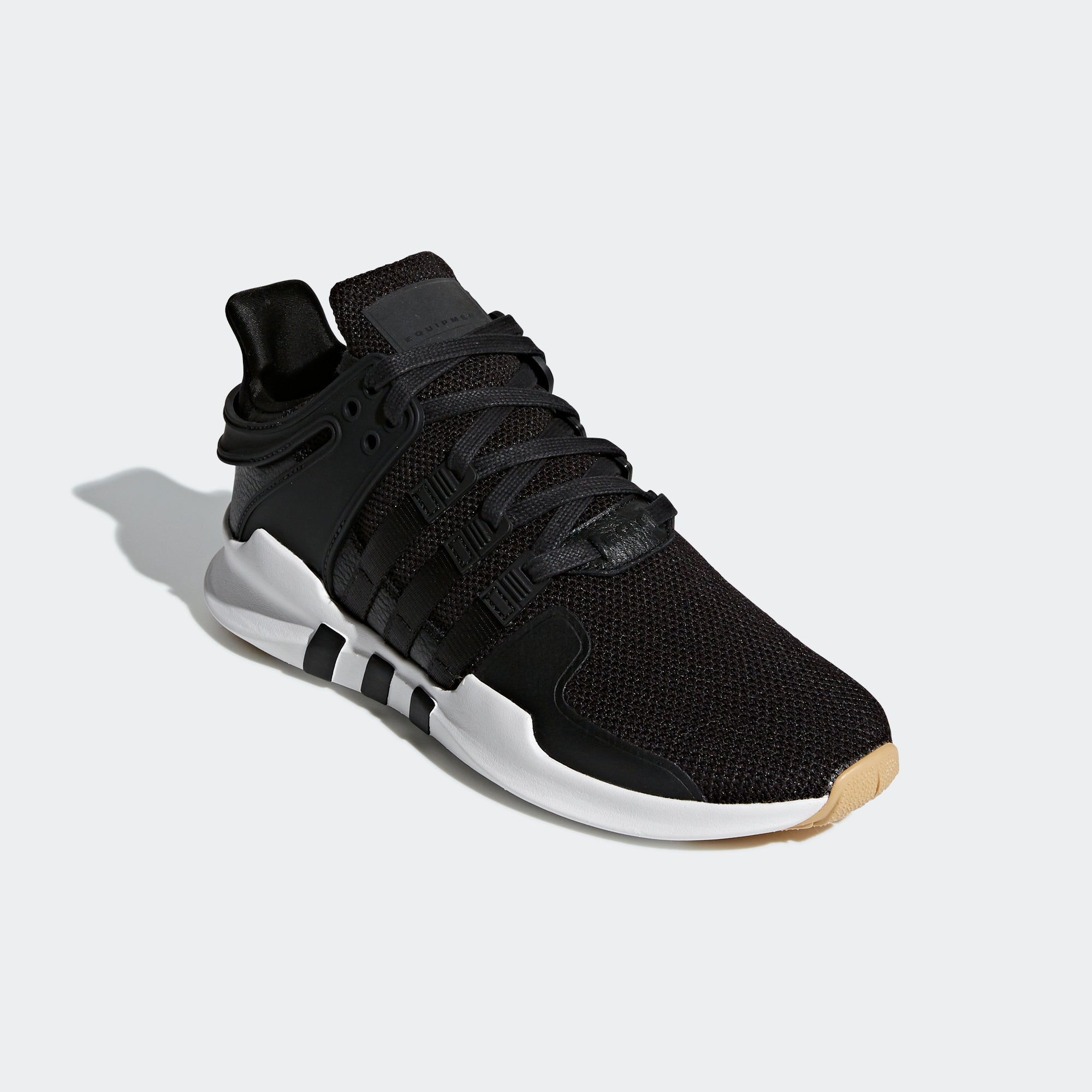 39b5e3782 Men s adidas Originals EQT Support ADV Shoes Core Black Gum. 1