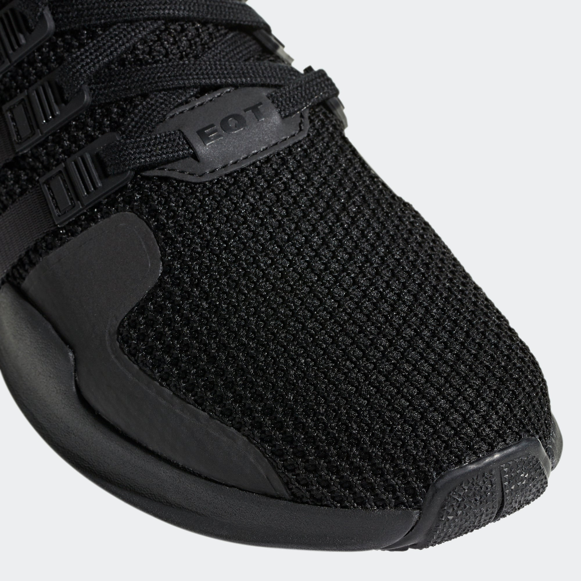 low priced 4bdb3 0639a adidas EQT Support ADV Shoes Triple Black D96771   Chicago ...