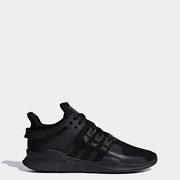 online store 689f9 8984b Men's adidas Originals EQT Support ADV Shoes Triple Black - 9 / BLACK