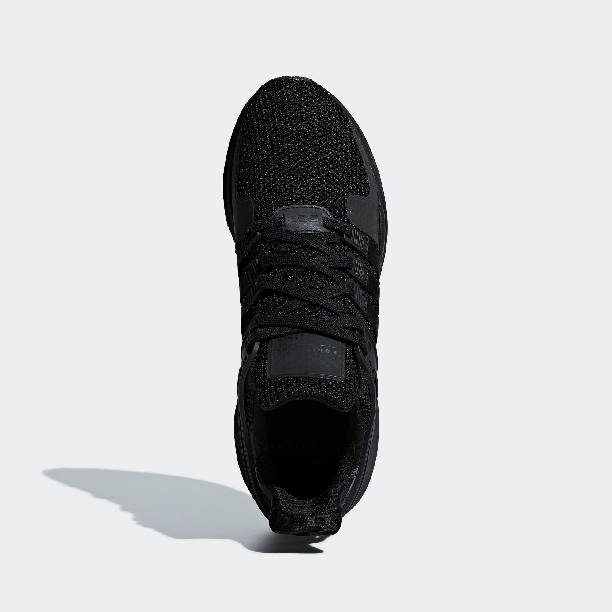 low priced 23287 37967 adidas EQT Support ADV Shoes Triple Black D96771 | Chicago ...