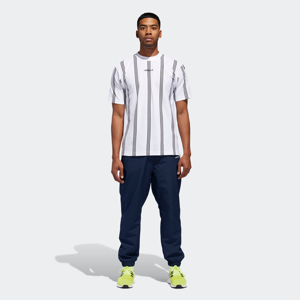Men's adidas Originals EQT Warm Up Wind Pants Collegiate Navy