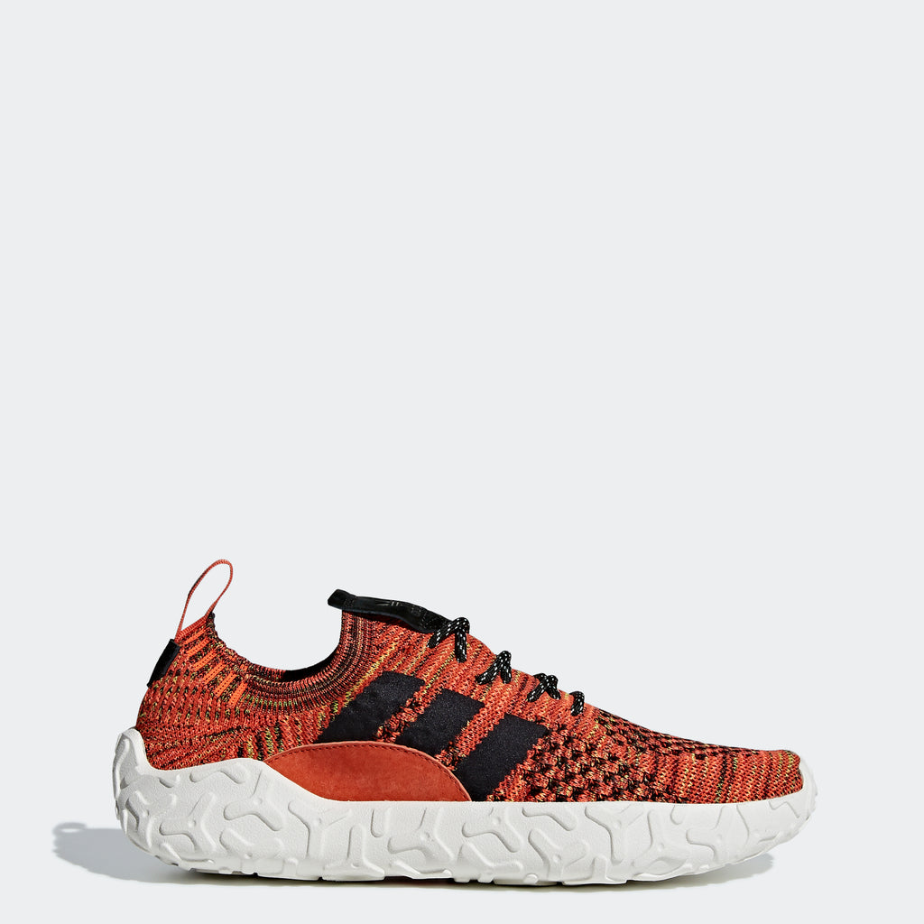 Men's Adidas Originals F/22 Primeknit Shoes Raw Amber Red