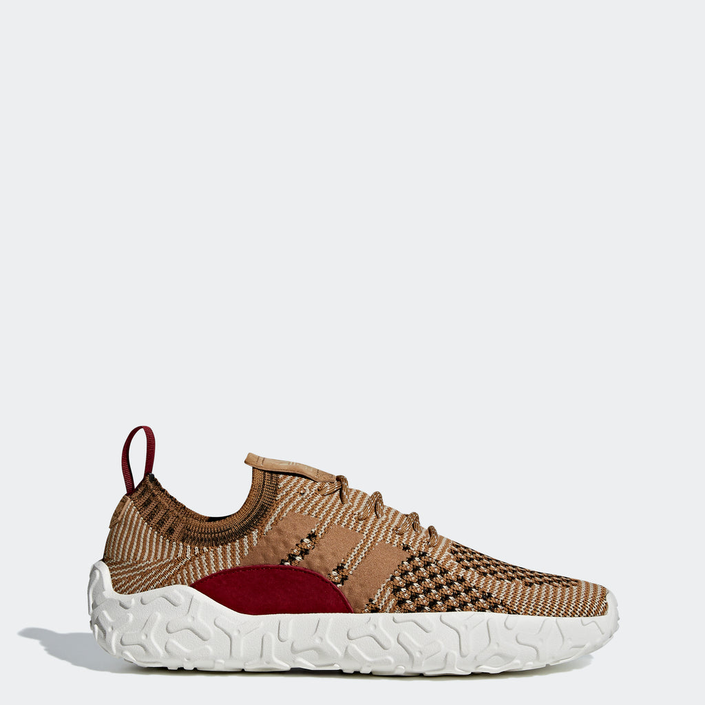 Men's Adidas Originals F/22 Primeknit Shoes Raw Gold