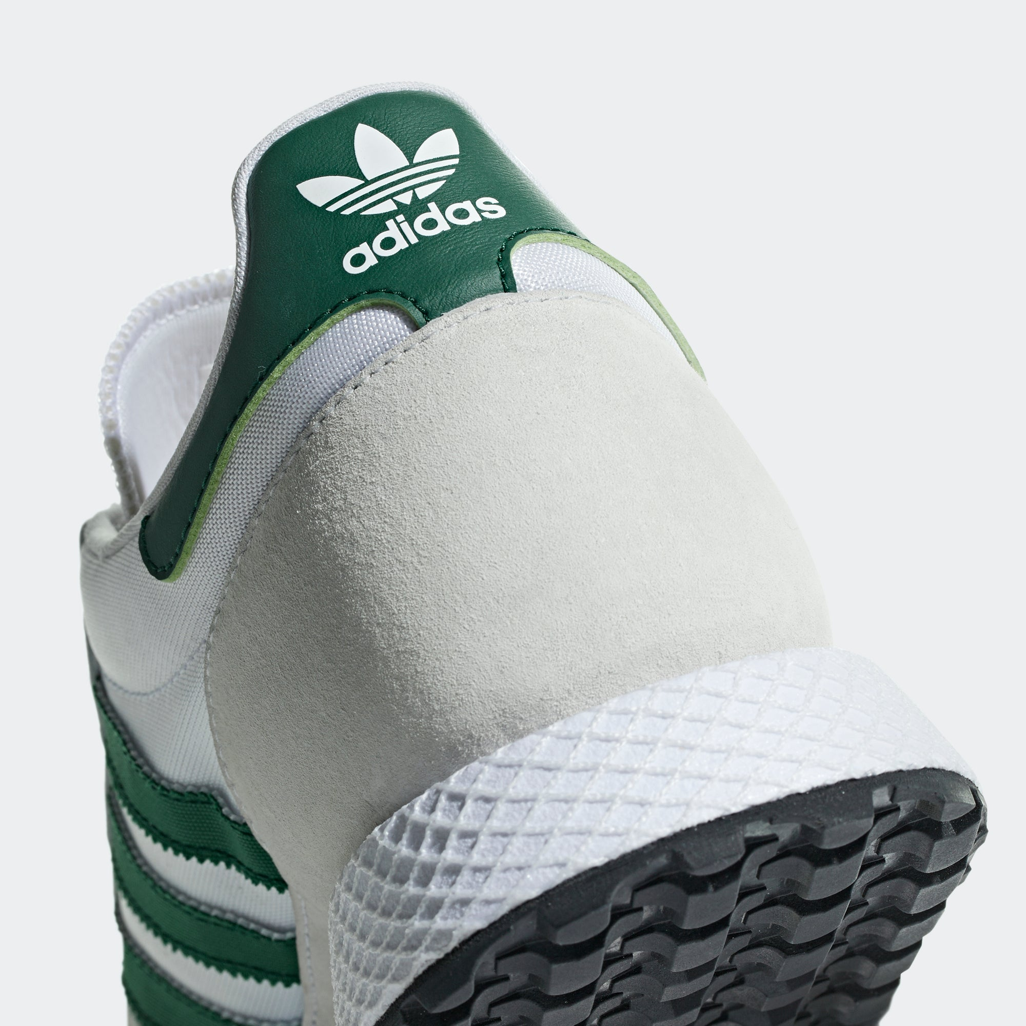5c72dadc7f5 adidas Forest Grove Shoes White Green B41546 | Chicago City Sports